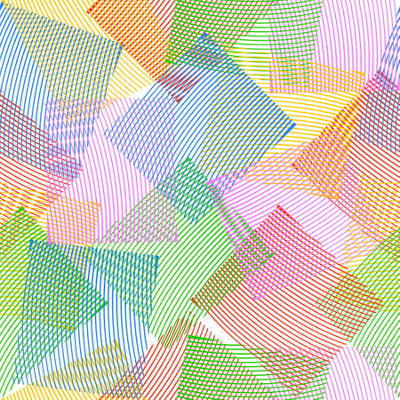 A seamless background of squares. Vector illustration