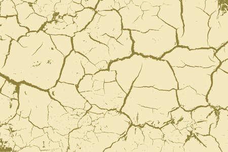 The cracks texture. Vector background. Illusztráció