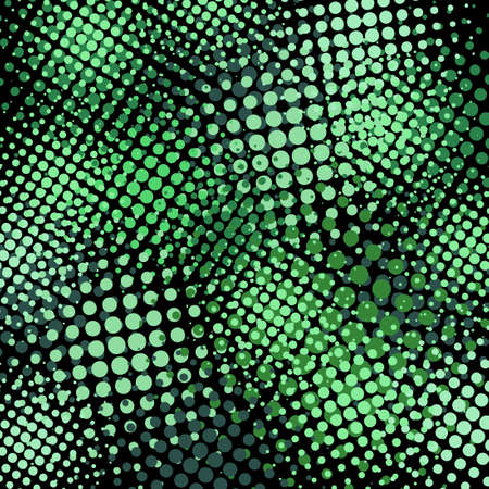 Light Green Halftone background. Vector illustration