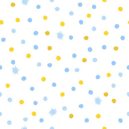 A seamless background of circles. Vector illustration Ilustracje wektorowe