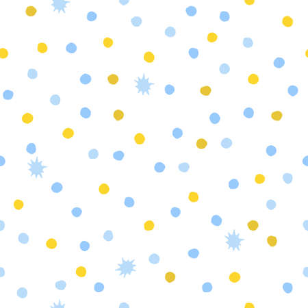 A seamless background of circles. Vector illustration Vector Illustratie