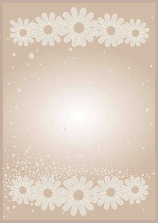vector illustration of beige background card Illustration