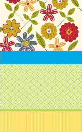 gratitudine: Illustrazione vettoriale di fiori di carta per le occasioni speciali