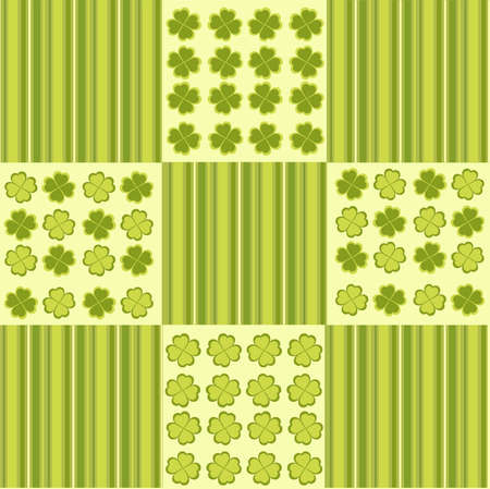 Vector illustration of Saint Patrick's Day pattern Stock Vector - 4123453