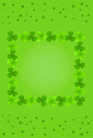 Vector illustration of Saint Patricks Day card Vector