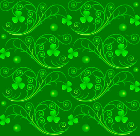 Vector illustration of Saint Patrick's Day pattern Stock Vector - 4345735