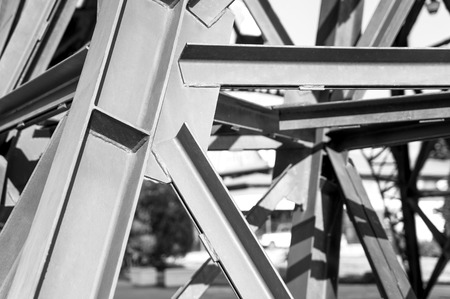 metal structure: Abstract texture metal structure