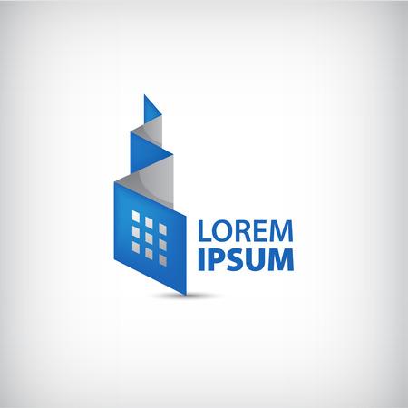buildings: Resumen de vectores de origami, la construcci�n de la cinta