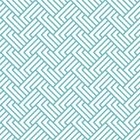 pop art herringbone pattern: vector chevrons abstract geometric seamless pattern background retro vintage design Illustration