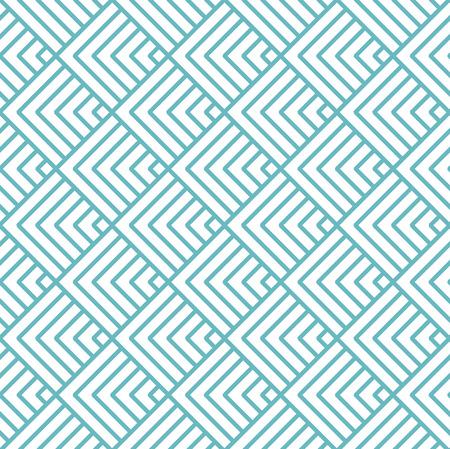 vector chevrons abstract geometric seamless pattern background retro vintage design Illustration