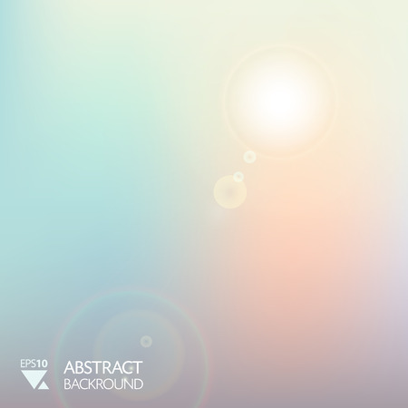 backround: vector abstract soft smooth light morning backround