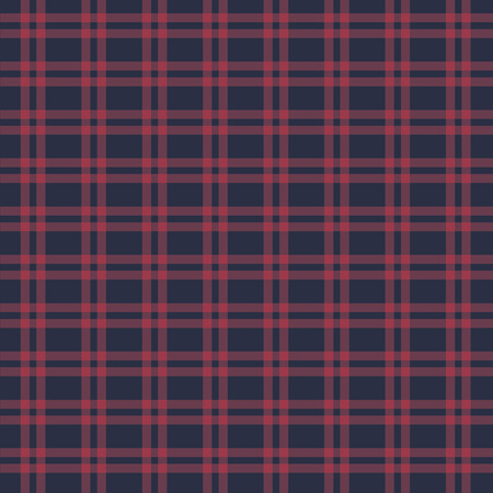christmas plaid: vector seamless retro squared fabric, background, paper Illustration