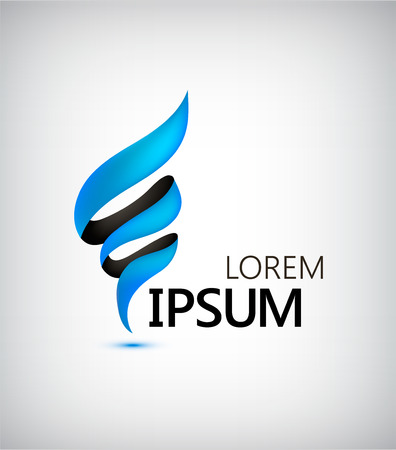 espiral: Diseño de logotipo Negocios Finanzas Vectores
