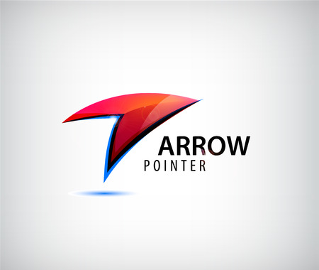 vector arrow: Vector abstract web  , arrow  , arrow icon. point