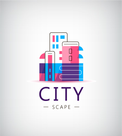 city building: City vector  , building  identity isolated Illustration