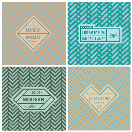 graphic backgrounds: Graphic Design Templates for Logo, Labels and Badges. Abstract Line Patterns Backgrounds. Seamless patterns with geometric abstract shapes