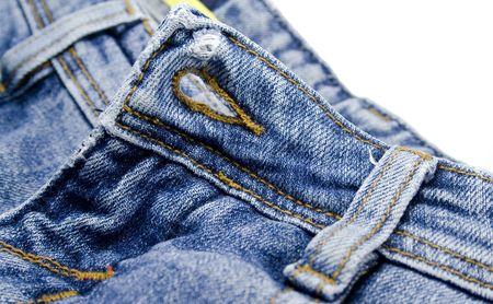 blue jeans details close up photo