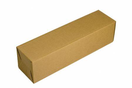 box isolated on white background photo