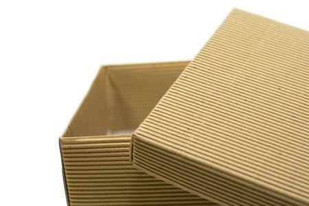 close up of of empty box photo