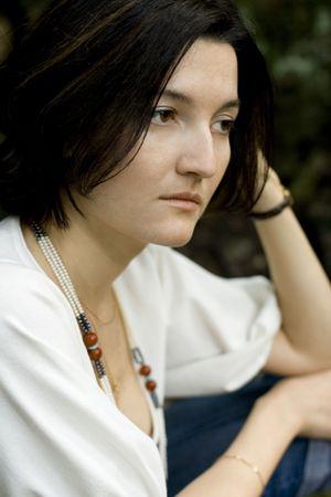 closeup portrait of unhappy brunet woman Stock Photo - 3430441