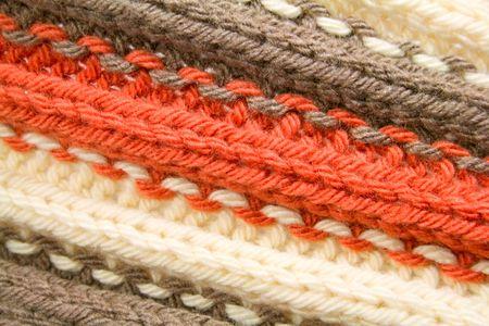 Deel van gebreide wol achtergrond Stockfoto - 3899602