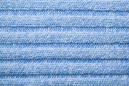 closeup of a blue woolen pattern photo