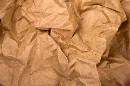 old crumpled paper background photo