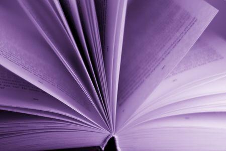prosa: libro aperto sfondo Archivio Fotografico