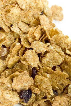 cornflakes background, closeup Stock Photo - 4408163