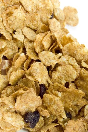 cornflakes background, closeup Stock Photo - 4408163