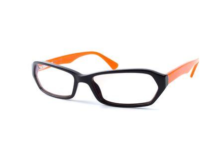 eyeglasses isolated on white background photo