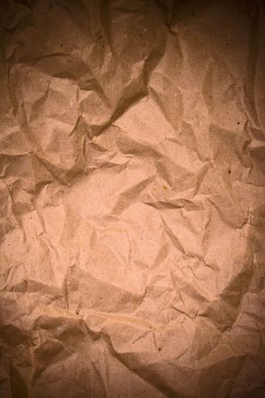 old grunge crumpled paper background photo