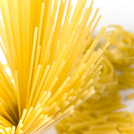 vaus shapes of pasta background Stock Photo - 4780995