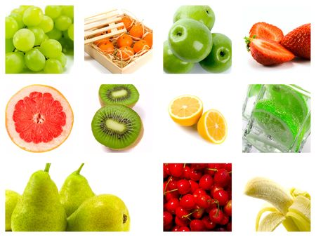 fresh fruit collection Stock Photo - 4849660