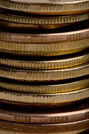 stack of coins closeup photo