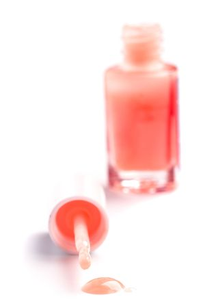 nail polish on white background Stock Photo - 5179880
