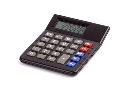 calculator isolated on white background Stock Photo - 5415757