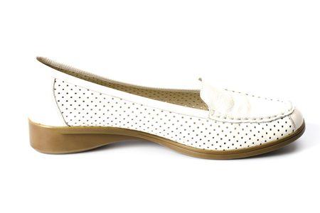 single shoe isolated on white background Stock Photo - 6284123