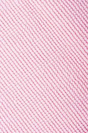 closeup pink fabric texture background