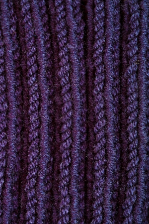 сloseup image of knitted blue wool texture photo