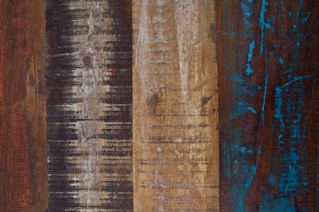 Wooden grunge wooden painted texture. Ancient background.