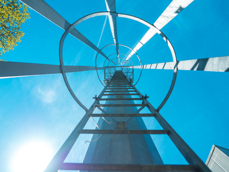 steeplejack: The tower stairs of success up in sky