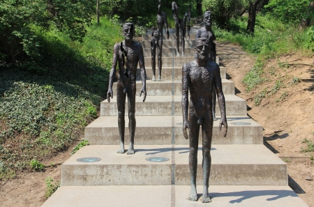 despotism: Monument to the victims of communism in Prague