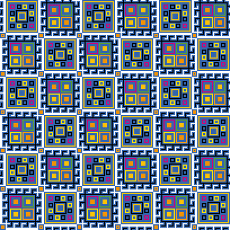 folksy: Seamless geometric pattern for multipurpose use: wallpaper, paper, wrapping, textile, print, web background etc.