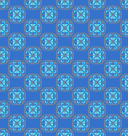 folksy: Seamless pattern can be used for wrapping, wallpaper, pattern fills, web page background, design of textile etc.