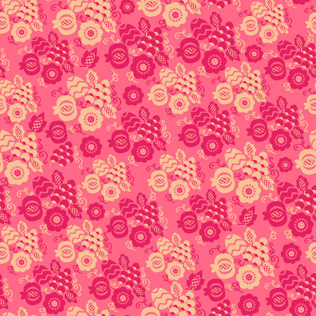 Seamless pattern can be used for wrapping, wallpaper, pattern fills, web page background, design of textile etc.