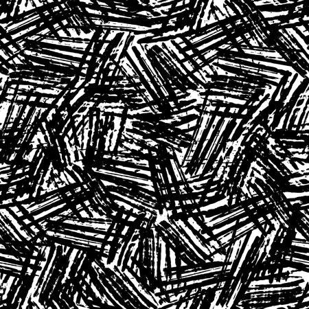 Ink abstract seamless pattern Vecteurs