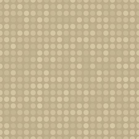 Seamless pattern with circles different opacity Ilustração