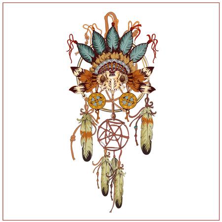 skull: Tribal design graphique vectoriel