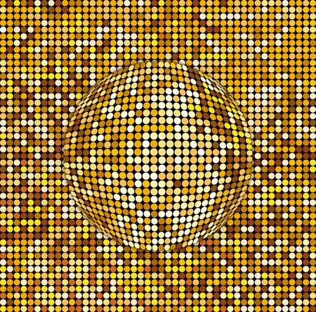 Abstract Disco ball background photo